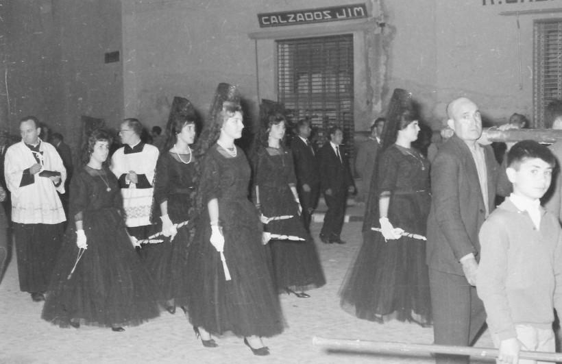 Majoralesses a Gandia - 1962